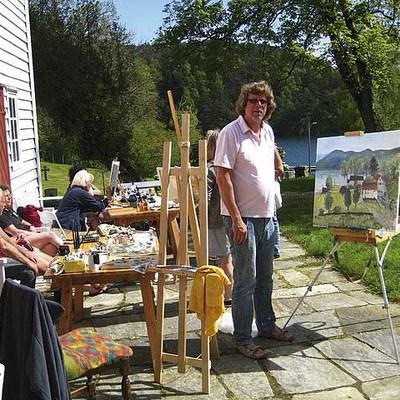 Malerkurs med Tor Olaf Lunde