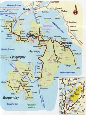 Kart Adkomst Fjelberg Prestegard